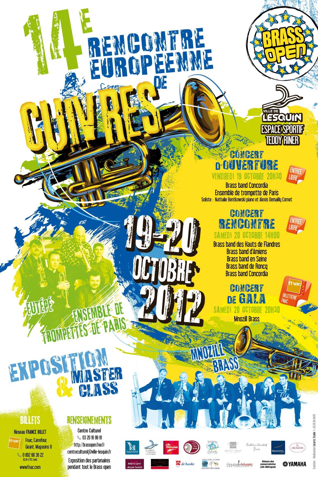 BRASS OPEN 2012 * 14ème Rencontre Européenne de Cuivres