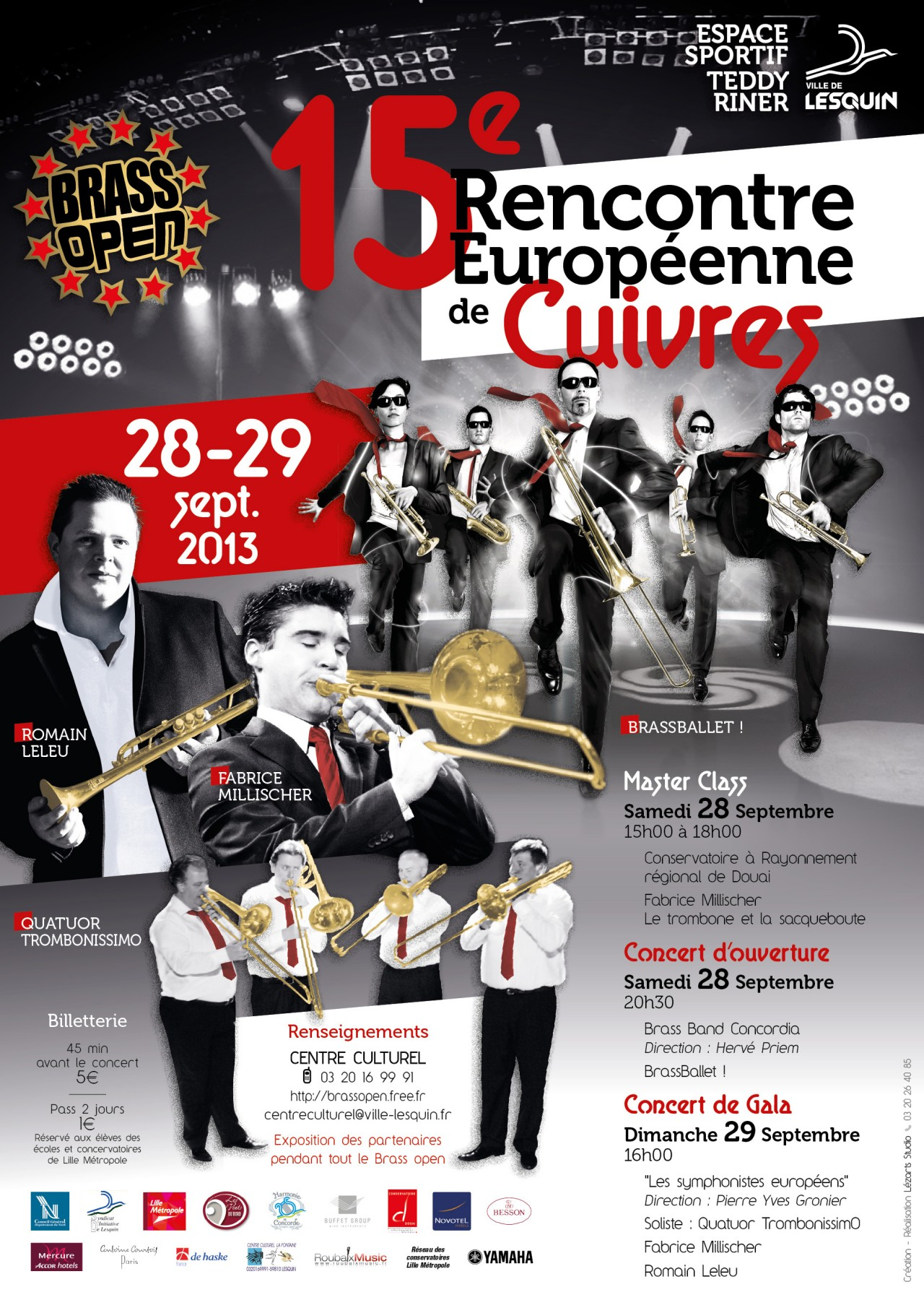 Brass Open 2013 : 15 ème Edition. 28-29 Septembre